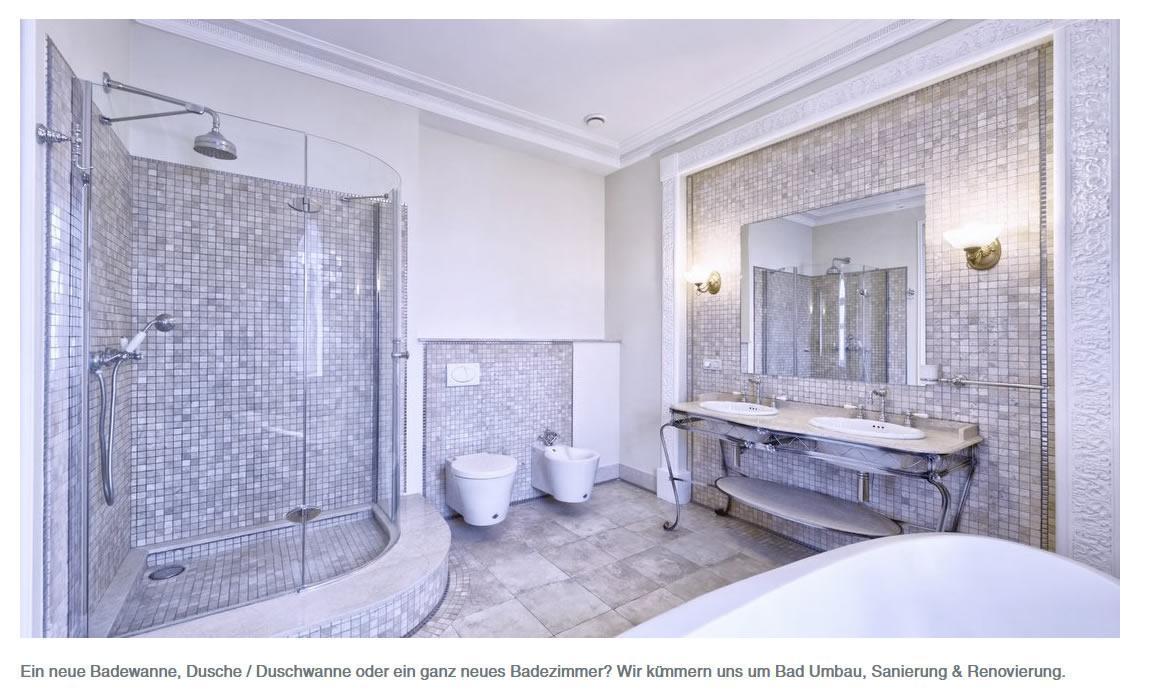 Badewanne, Duschen, Badezimmer montieren für Erlenbach