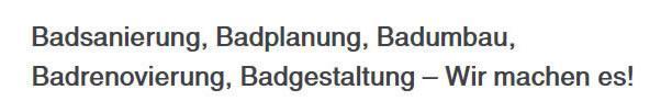 Badrenovierung, Bäder Renovierung & Modernisierung aus 95028 Hof - Lausenhof, Alsenberg, Unterkotzau, Rosenbühl, Haidt, Pirk und Krötenbruck, Stein, Hohensaas