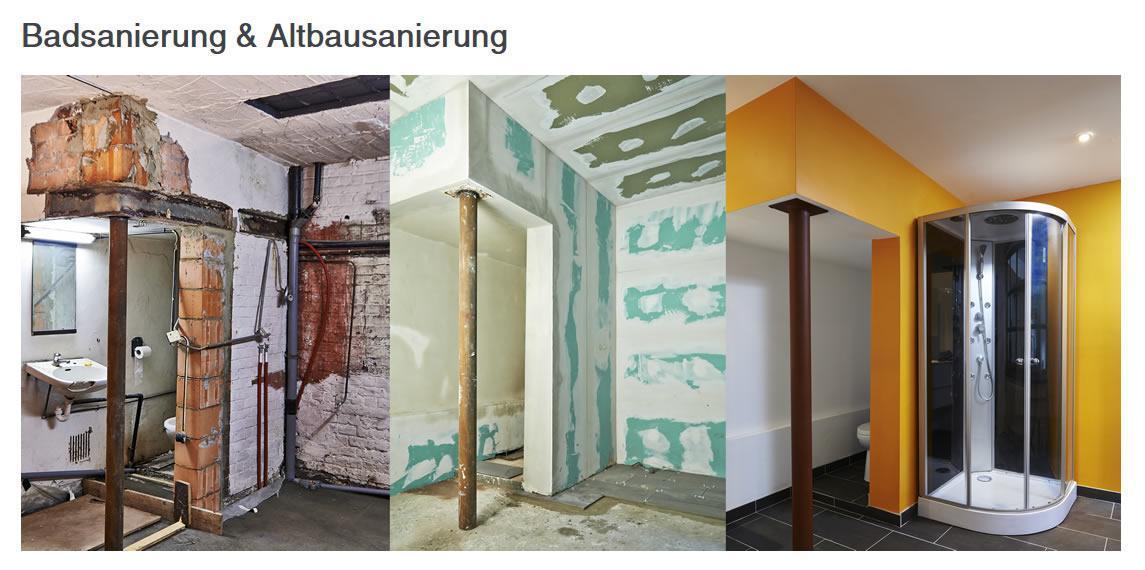 Badsanierung für Bochum - Badezimmer & Altbau, Planung, Umbau, Renovierung, Fachbetrieb