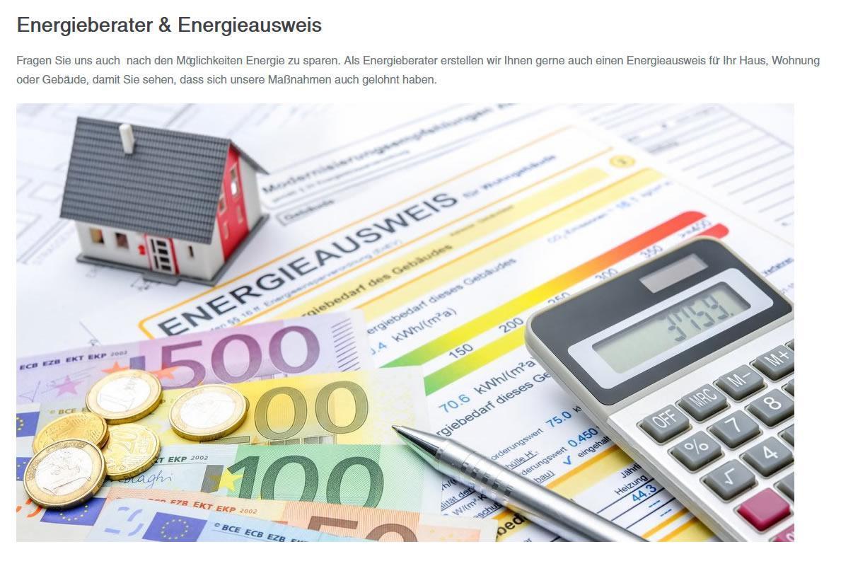 Energieausweis und Energieberater für Erlenbach